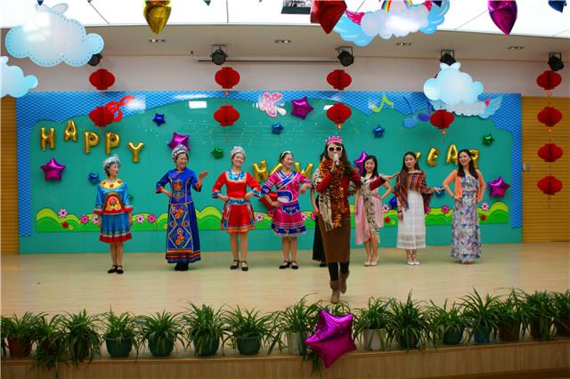 州民族幼儿园庆元旦歌舞表演